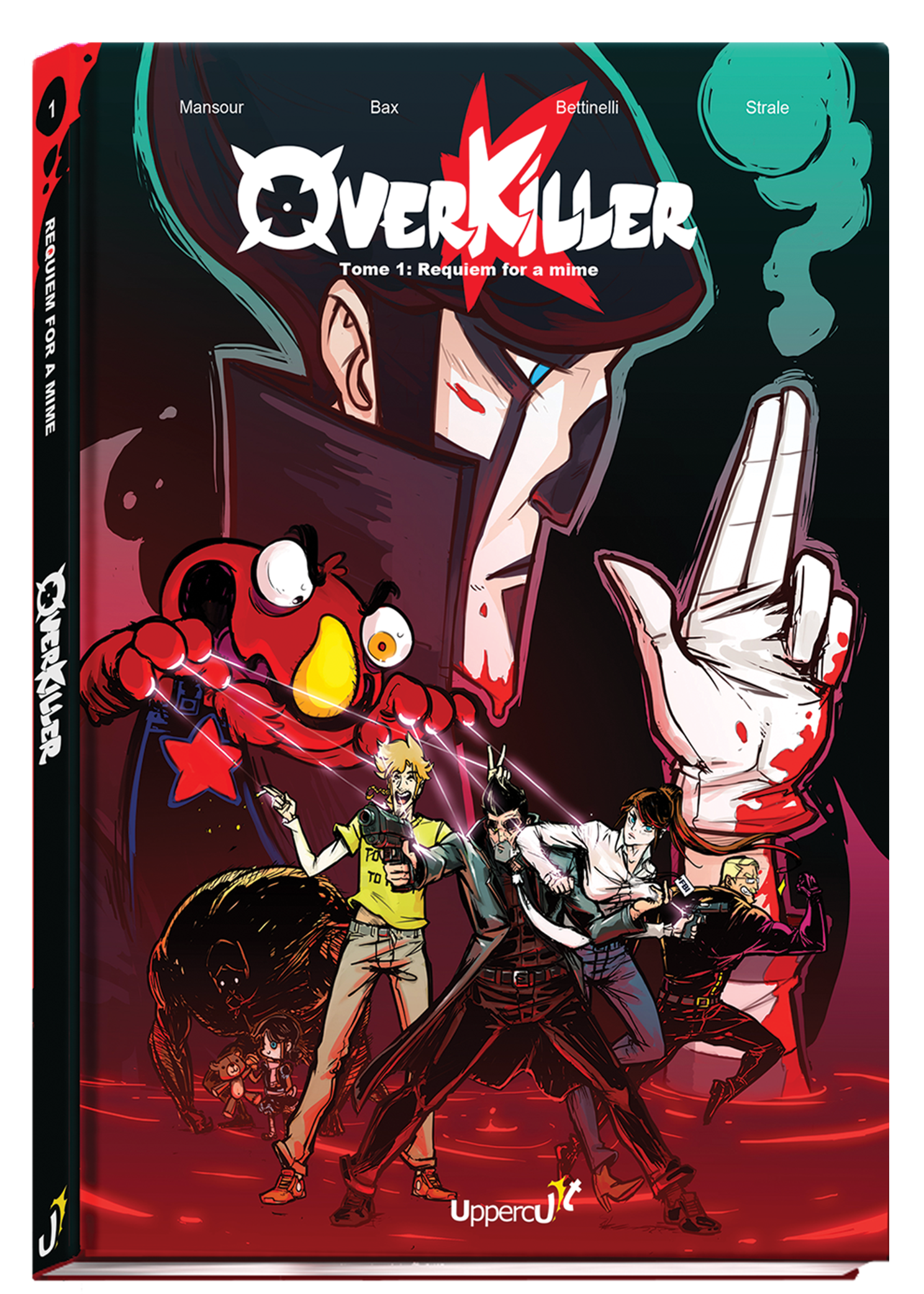 Overkiller Tome 1 : Requiem for a mime